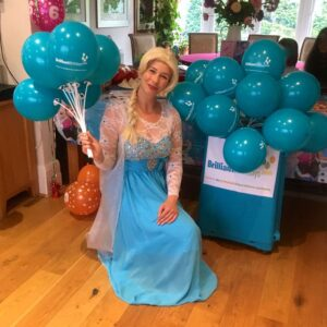 Queen Elsa Lookalike Kids Party Host