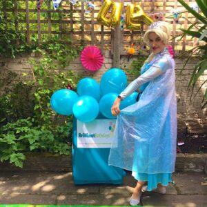 Queen Elsa Party Host