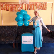 Queen Elsa Kids Frozen Party Host London
