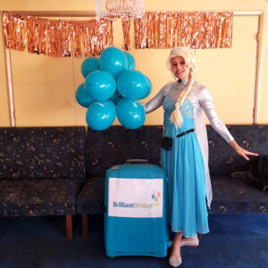 Queen Elsa Kids Frozen Party Host London