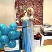 Elsa Lookalike Party Children Entertainer London