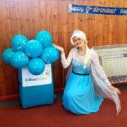 Queen Elsa Lookalike Party Entertainment