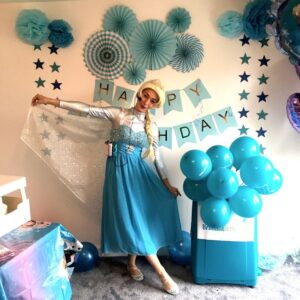 Queen Elsa Lookalike party London