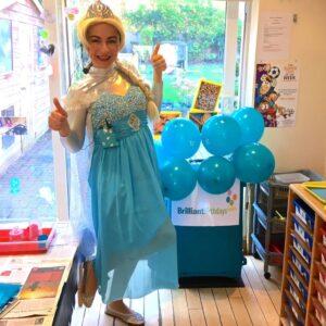 Queen Elsa Lookalike Frozen Party