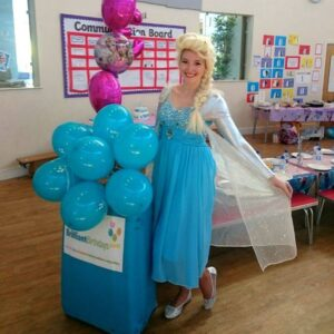Queen Elsa Children's Party London