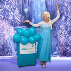 Queen Elsa Frozen Kid's Party London
