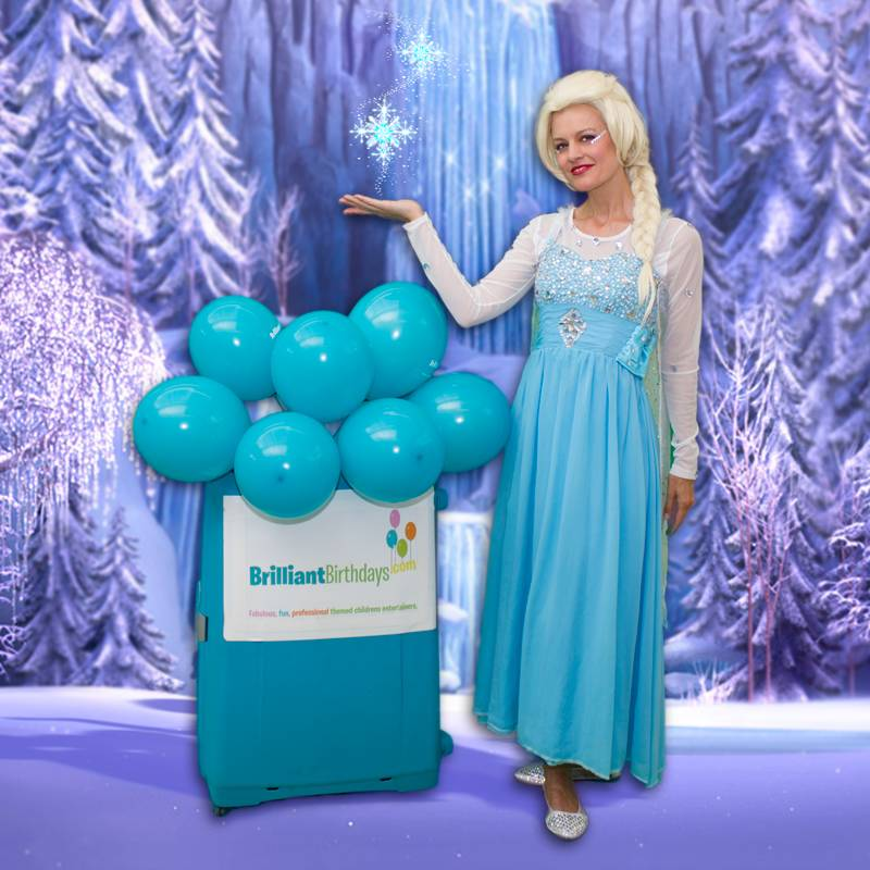 Queen Elsa Frozen Themed Party Entertainer London