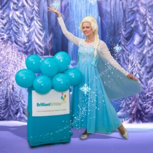 Queen Elsa Lookalike Party Queen Elsa Frozen Event Entertainment