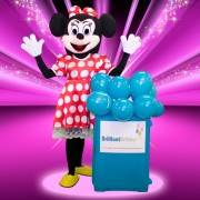 Minnie Mouse Mascot Kid's Party London