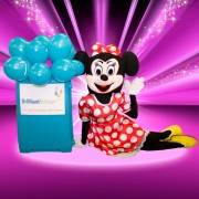 Minnie Mouse Mascot Themed Party Entertainment