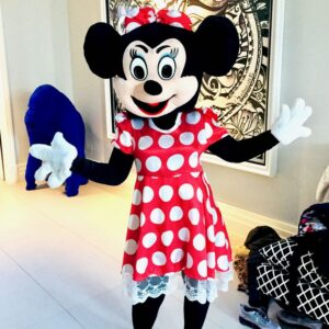 Minnie Mouse Mascot Lookalike Party Entertainer