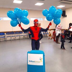 Spiderman Kid's Party Host London