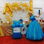 Cinderella Themed Party Entertainer London