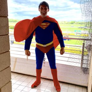 Superman Party Host