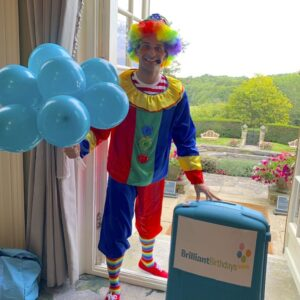 Clumsy Clown Party Host