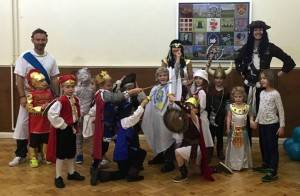 Horrible Histories Kid's Party London