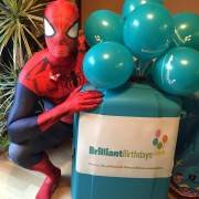 Spiderman Attending a children's Party in Wimbledon London