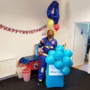 Firefighter Party Host London