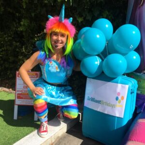 Rainbow Unicorn Party Host