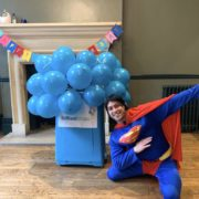 Superman Lookalike Party Entertainment