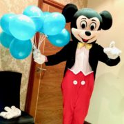 Mouse Mascot Party Entertainer