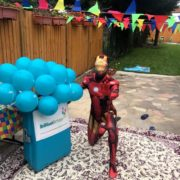 Ironman Children's Party Host London