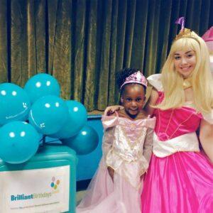 Princess Aurora Themed Party Entertainer London