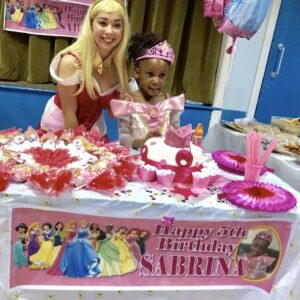 Princess Aurora Children's Party London