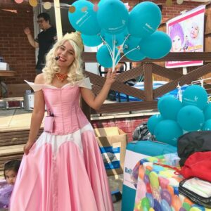 Princess Aurora Lookalike Party Entertainer