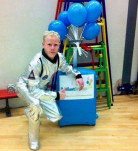 Spaceman Children's Party Entertainer