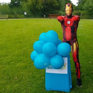 Ironman Party Host London