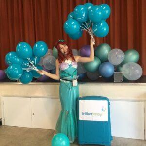 Mermaid Party Entertainer London