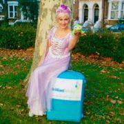 Rapunzel Party Host