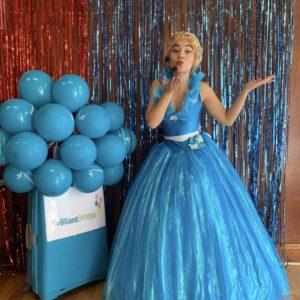 Cinderella Lookalike Party Host