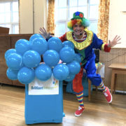 Clumsy Clown kid's Party London