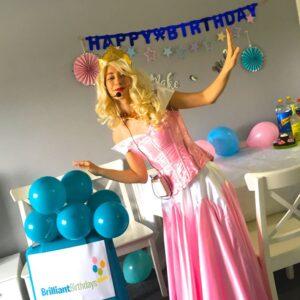 Princess Aurora lookalike Party fun London