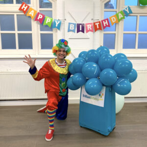 Clumsy Clown Children's Party Host London