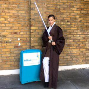 Jedi party Host London