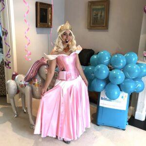 Excellent Princess Aurora Party Entertainment