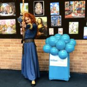 Princess Merida Lookalike Party Host London