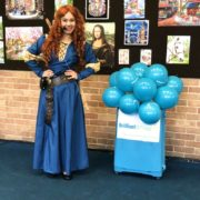 Princess Merida Lookalike Party London