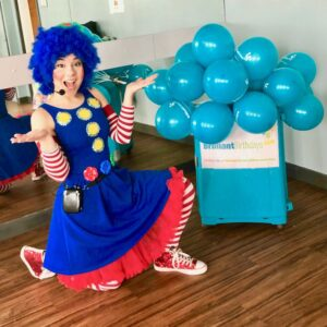 Clumsy Clown Female Party Host