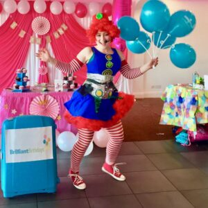 Clumsy Clown Female Entertainer