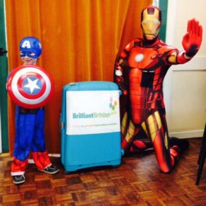 Ironman Themed Kids Party