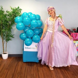 Rapunzel Party Host London