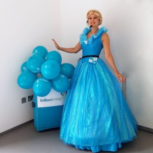 Cinderella Lookalike Childrens party host London