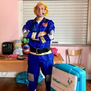 Fireman Party Entertainer London