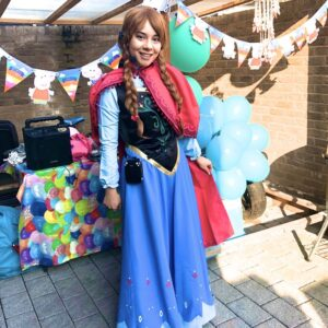 Princess Anna Lookalike Party Host London