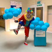 Clumsy Clown Kids Party