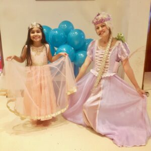 Rapunzel Children's Party Entertainer